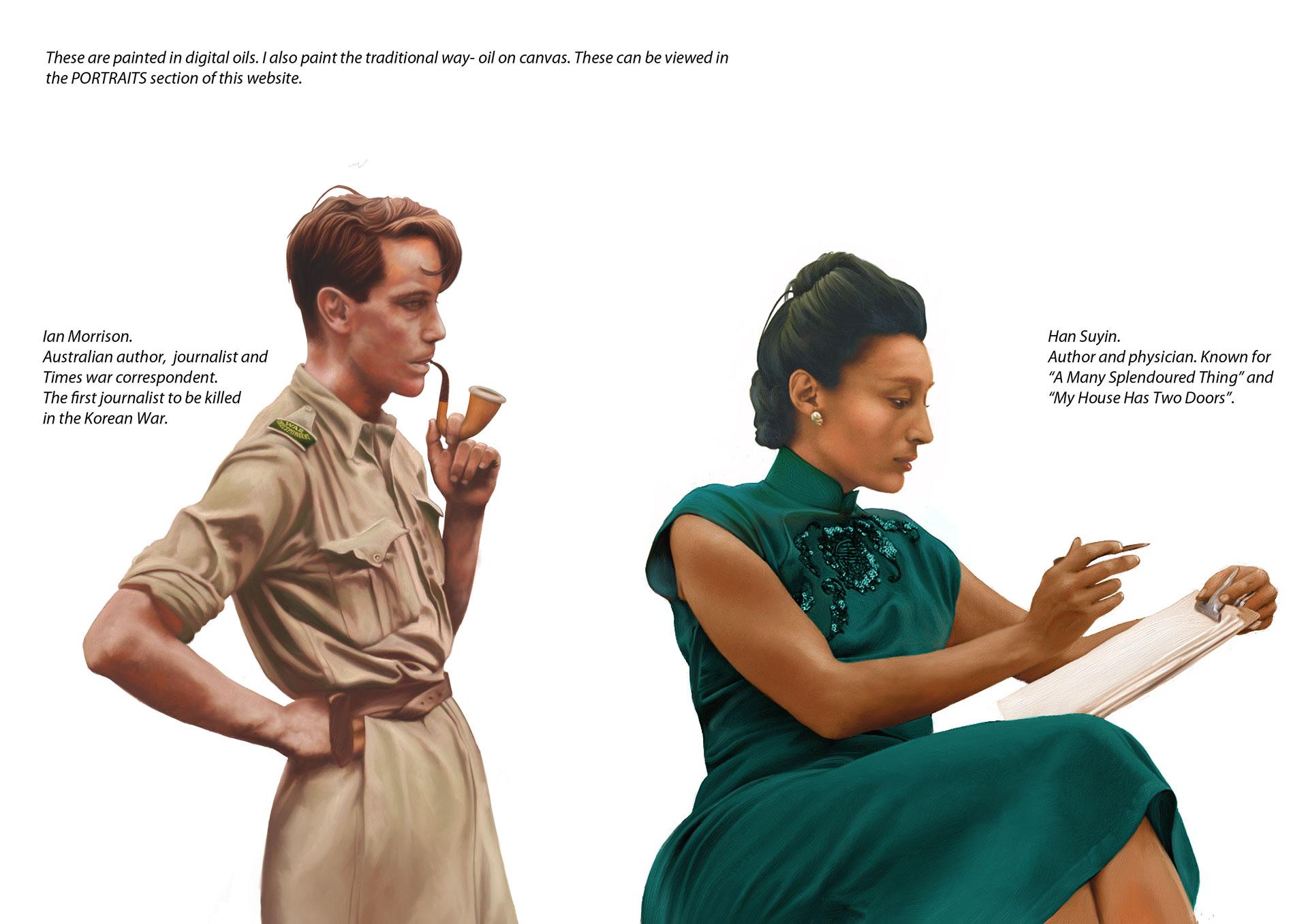 Han Suyin © Michael Payne Graphic Design
